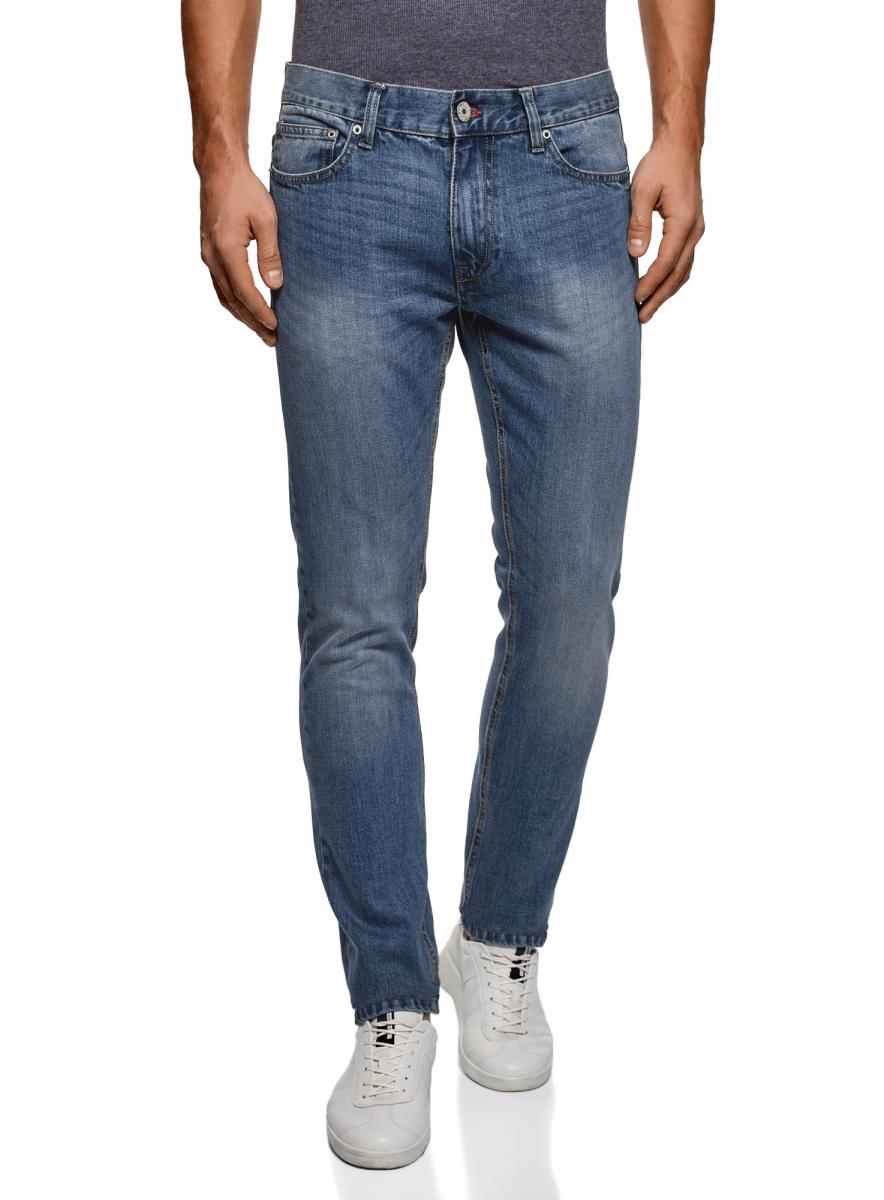 Джинсы oodji Basic джинсы мужские oodji lab цвет синий джинс 6l120128m 45068 7500w размер 29 32 46 32