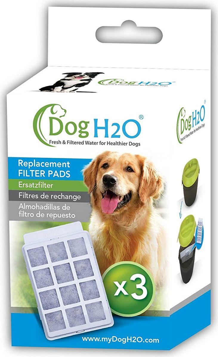 Сменные угольные фильтры Feed-Ex, для поилок CatH2O и DogH2O, 3 шт feed