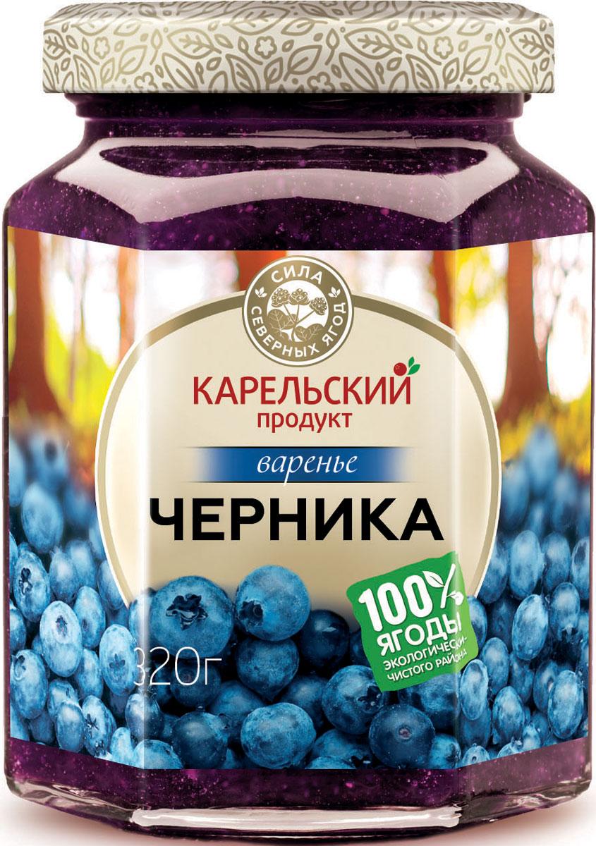 Карельский продукт Варенье из черники, 320 г цена 2017
