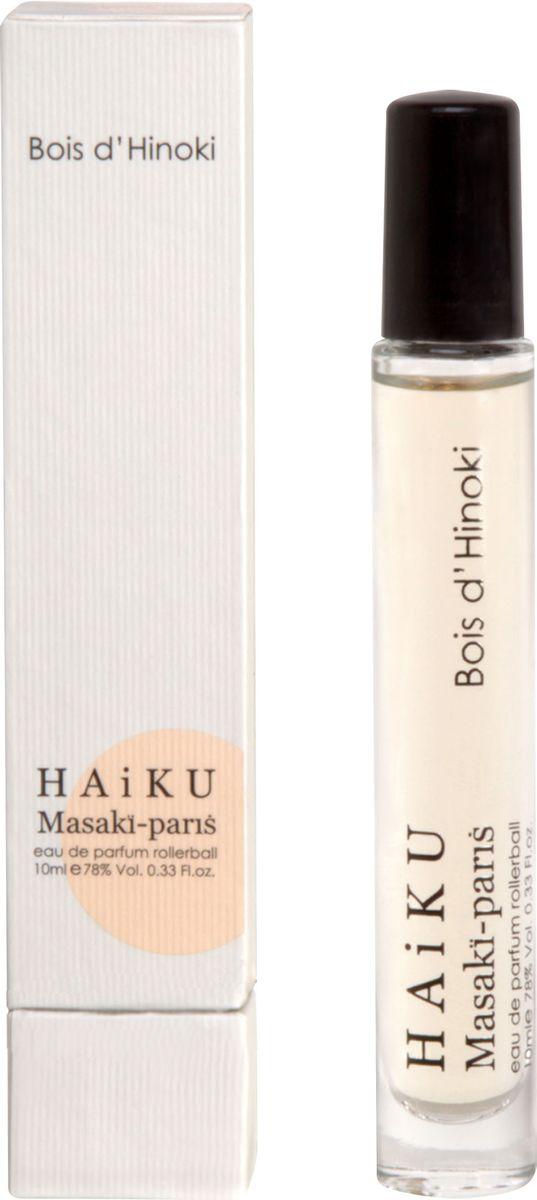 Masaki Matsushima Парфюмерная вода женская Haiku Bois D'Hinoki, 10 мл