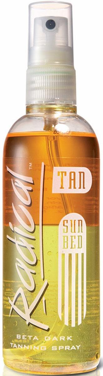 Крем ускоритель загара в солярии и на солнце Radical Tan Beta Dark, продвинутый уровень, 165 мл california tan крем для загара в солярии biofusion optimizer step 2 189 мл