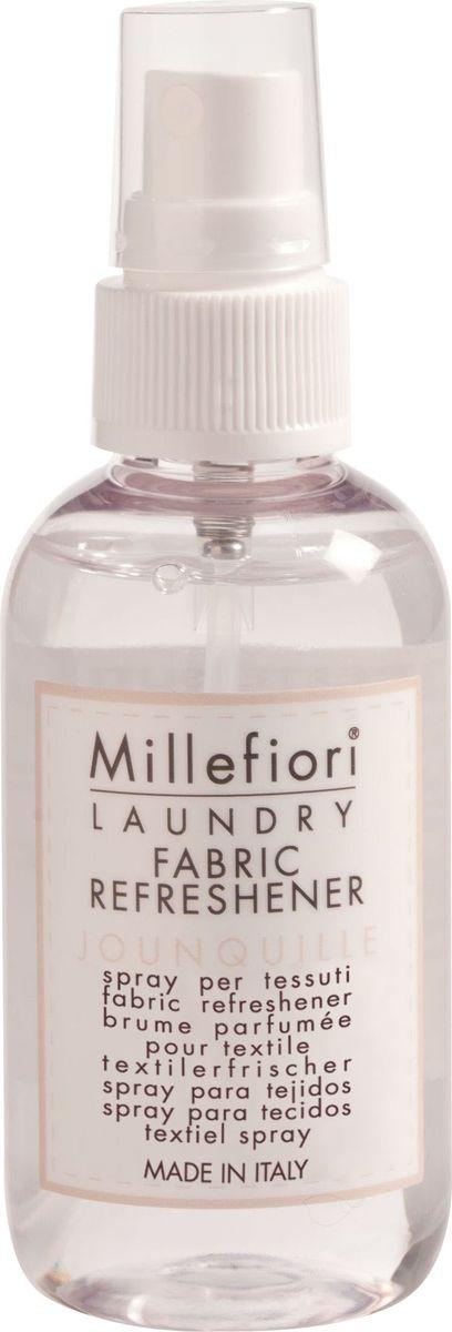 Аромат для тканей Millefiori Milano Нарцисс / Jounquille, 75 мл концентрат для аромалампы millefiori milano холодная вода fragrance soluble in water cold water 15 мл