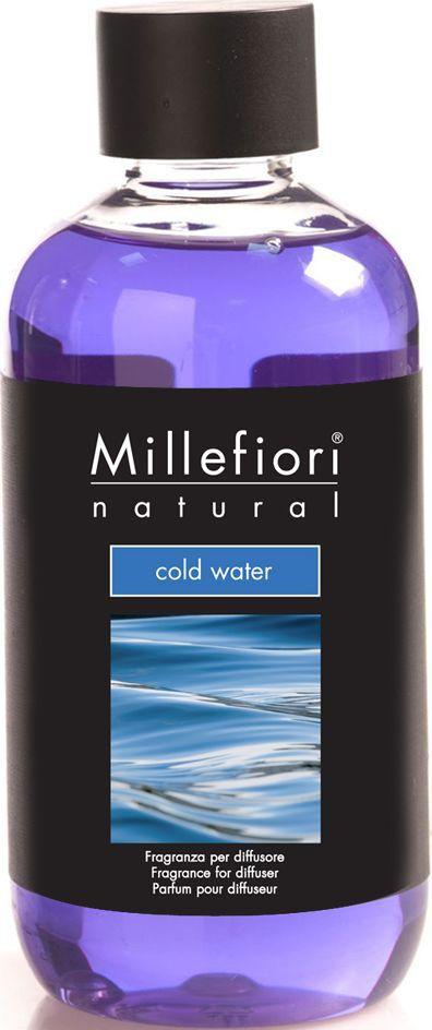 Сменный флакон для диффузора Millefiori Milano Холодная вода / Cold Water, 250 мл концентрат для аромалампы millefiori milano холодная вода fragrance soluble in water cold water 15 мл