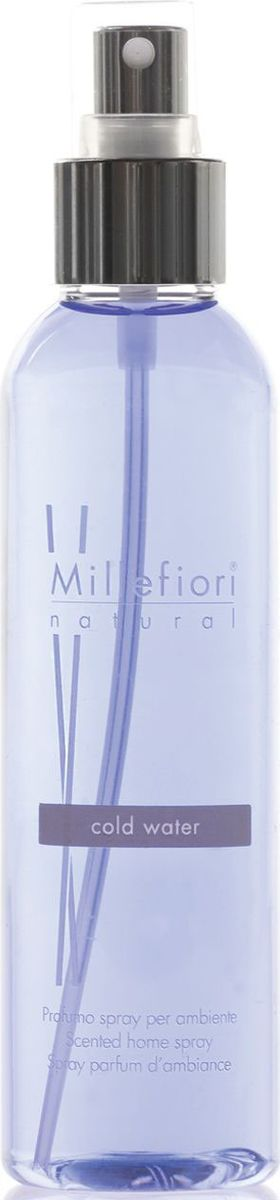Духи-спрей для дома Millefiori Milano Холодная вода / Cold Water, 150 мл духи спрей для дома millefiori milano natural лес и полевые цветы legni e fiori d arancio 150 мл