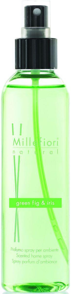 Духи-спрей для дома Millefiori Milano Зеленый инжир и ирис / Green Fig & Iris, 150 мл духи спрей для дома millefiori milano natural лес и полевые цветы legni e fiori d arancio 150 мл