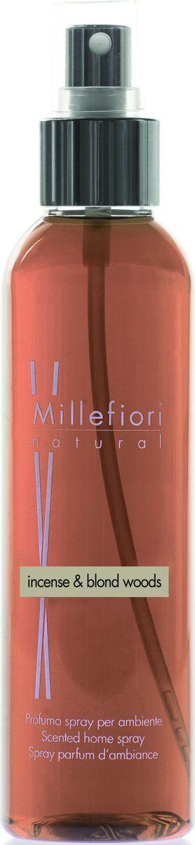 Духи-спрей для дома Millefiori Milano Благовония и белое дерево / Incense & Blond Woods, 150 мл духи спрей для дома millefiori milano natural лес и полевые цветы legni e fiori d arancio 150 мл