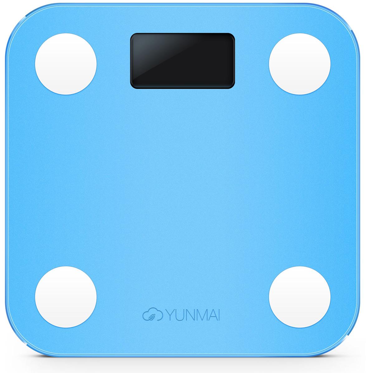 цена Напольные весы Yunmai Mini, Blue онлайн в 2017 году