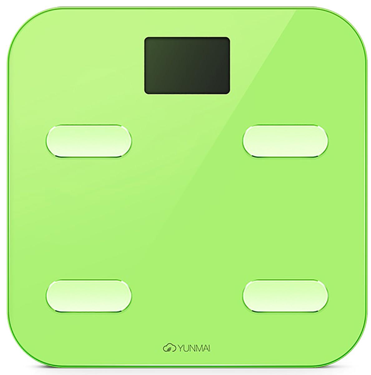 цена Напольные весы Yunmai Color, Green онлайн в 2017 году