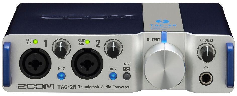 Zoom TAC-2R, Silver аудиоинтерфейс