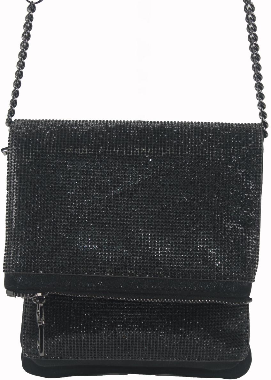 Клатч женский Flioraj, цвет: черный. 8236-0674/01