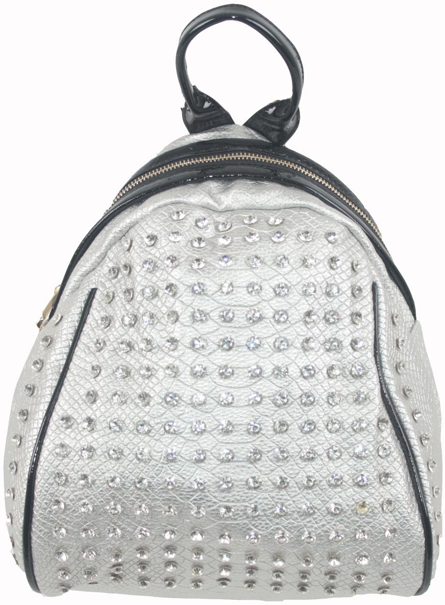 Рюкзак женский Flioraj, цвет: серый. 69151 рюкзак женский flioraj цвет серый 9806 1605 106