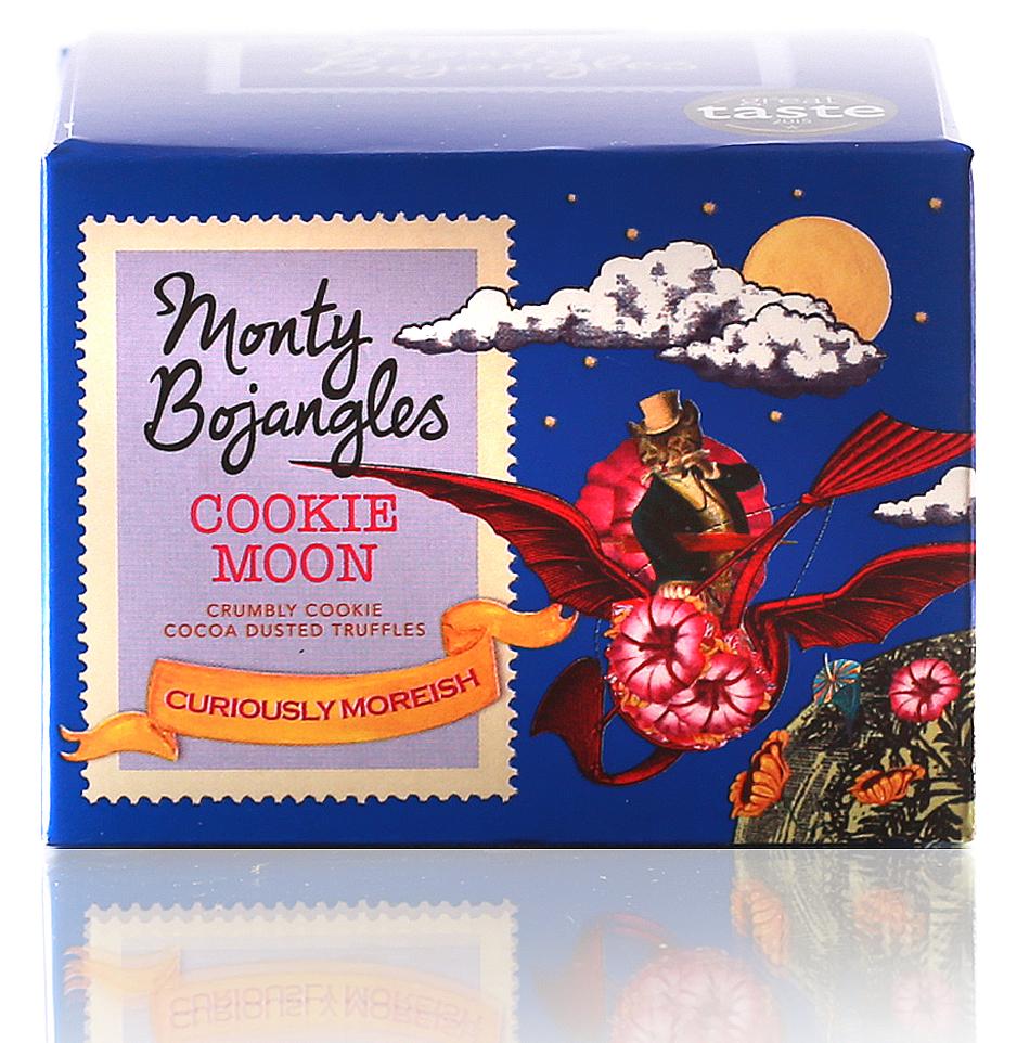 Monty Bojangles Французские трюфели с кусочками печенья, 100 г baron французские трюфели с кусочками малины 100 г