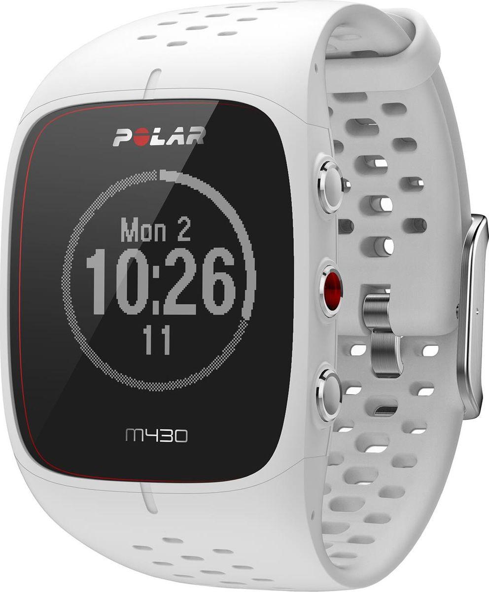 Спортивные часы Polar M430, с GPS, цвет: белый