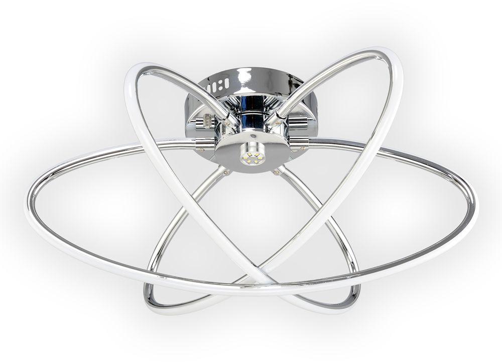 Люстра Максисвет Геометрия, 3 х LED, 64W. 1-1430-3-CR LED светильник светодиодный максисвет led панель 1 7400 wh y led