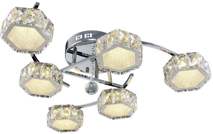 Потолочный светильник Максисвет, LED, 8 Вт максисвет потолочная люстра максисвет design геометрия 1 1696 4 cr y led