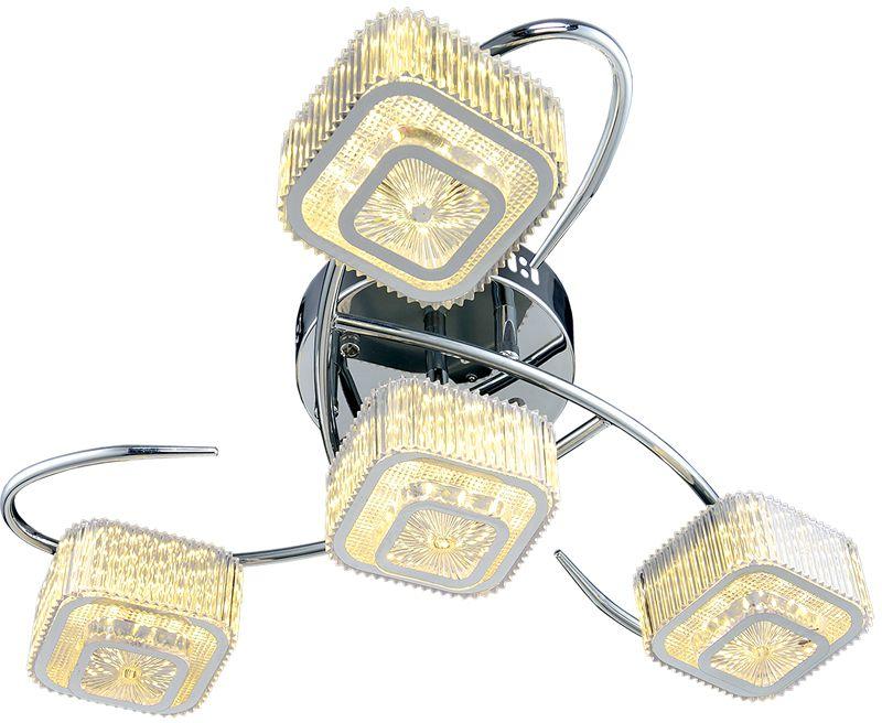 Потолочный светильник МАКСИСВЕТ 1-1698-4-CR Y LED максисвет потолочная люстра максисвет design геометрия 1 1696 4 cr y led