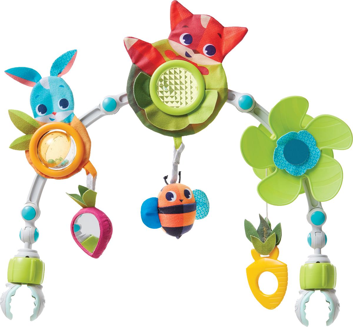 Tiny Love Развивающая дуга-трансформер Солнечная полянка развивающая игрушка погремушка tiny love волшебный шарик