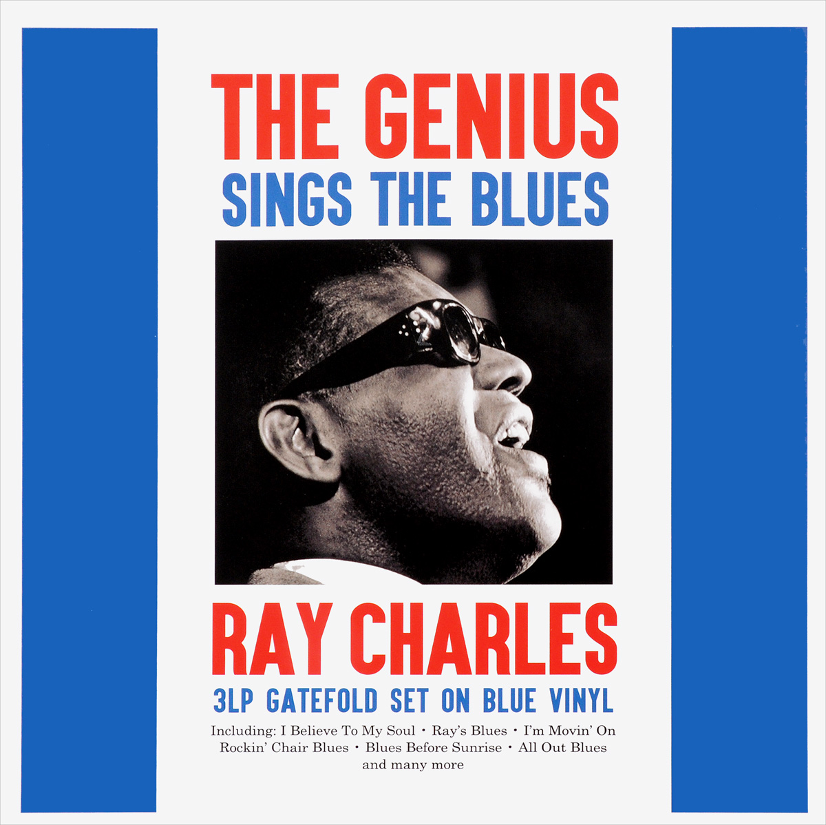 Charles Ray Ray Charles. The Genius Sings The Blues (3 LP) цены