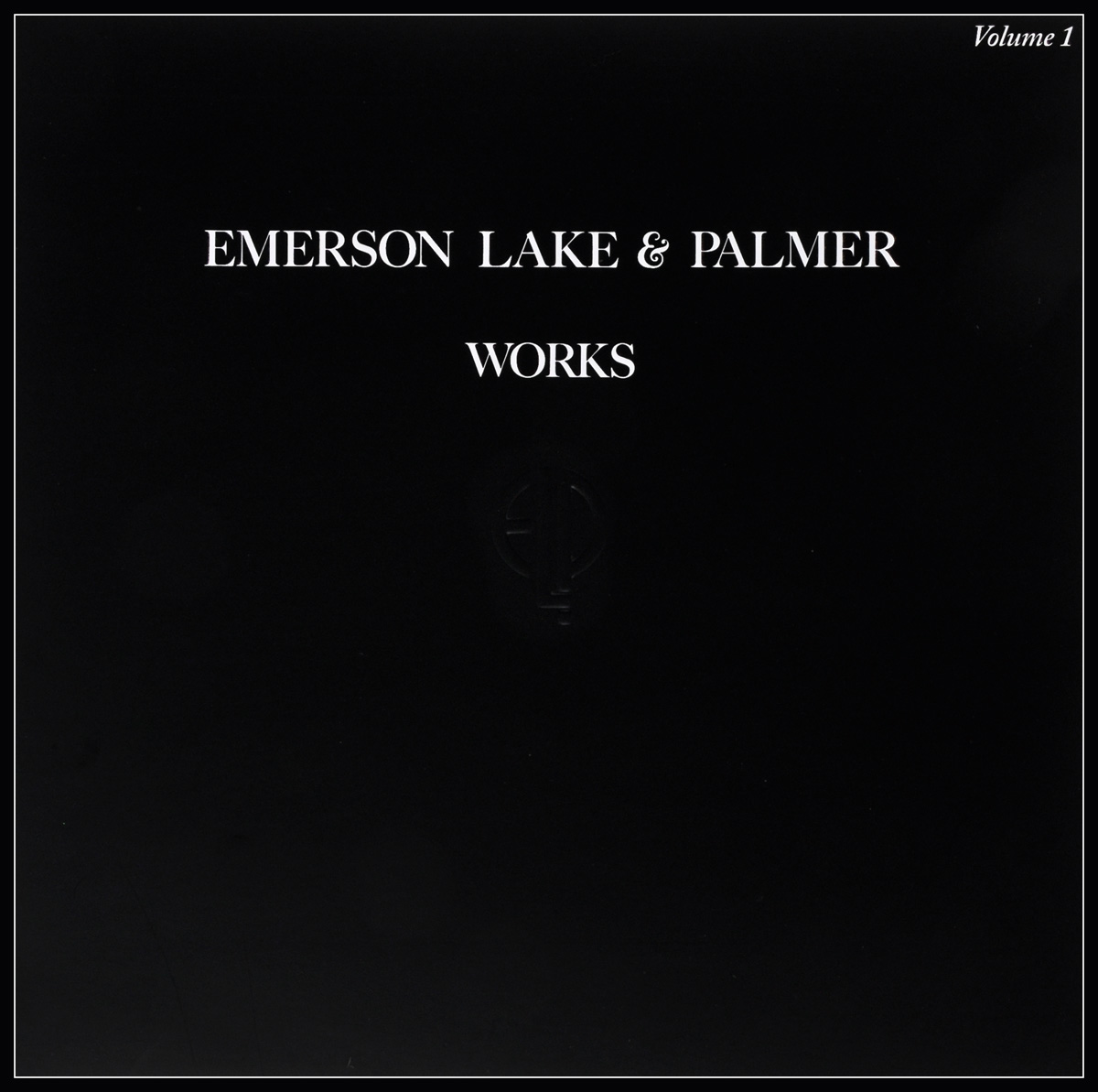 Emerson, Lake & Palmer Emerson, Lake & Palmer. Works Volume 1 (2 LP) deconnick stegman palmer sif