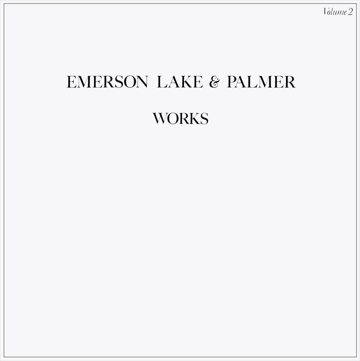 Emerson, Lake & Palmer Palmer. Works Volume 2 (2 LP)