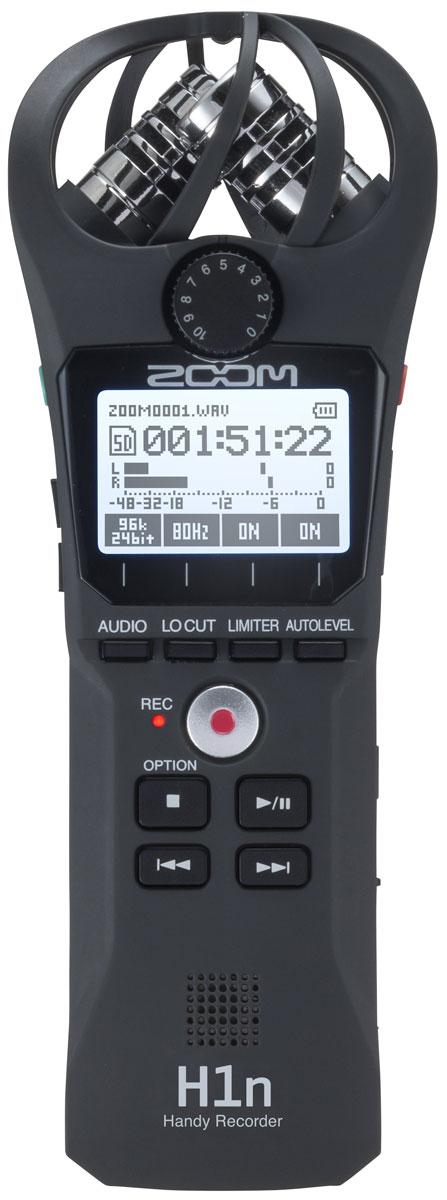 Zoom H1n, Black портативный рекордер