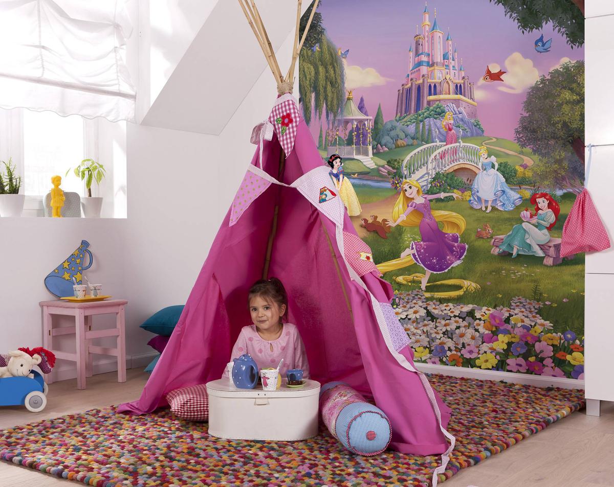 Фотообои Komar Принцессы и закат, 184 см х 2,54 м фотообои komar принцессы и закат 184 см х 2 54 м