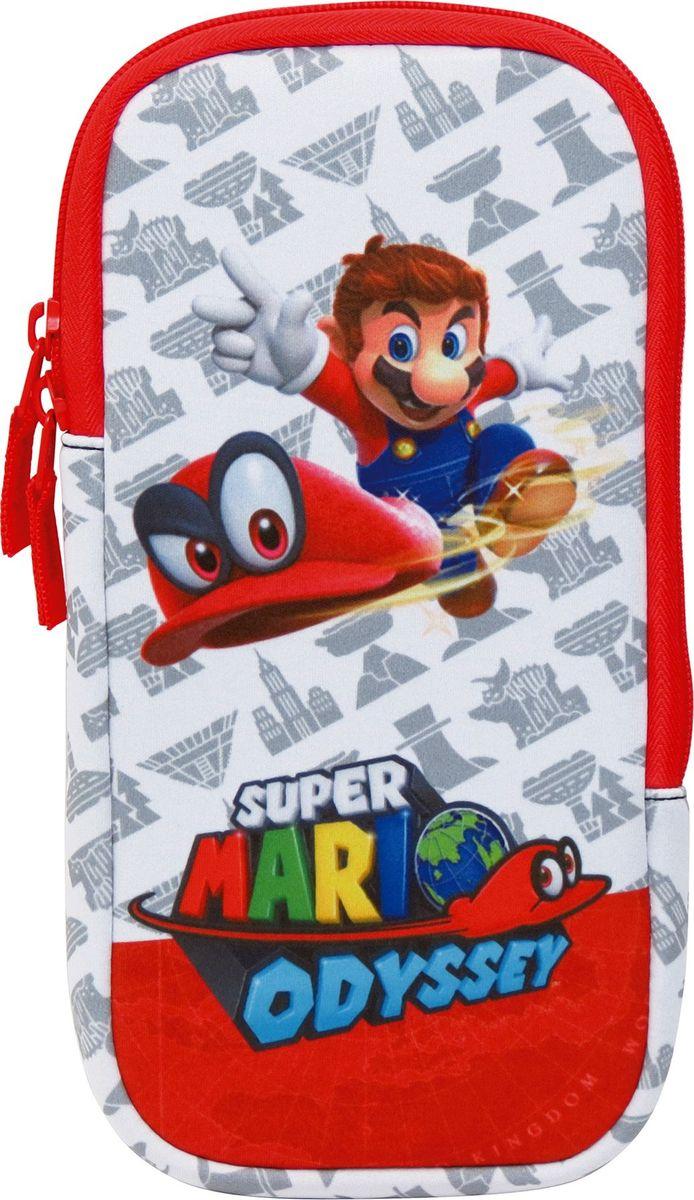 лучшая цена Hori Набор аксессуаров Mario Odyssey Nintendo Switch NSW-073U