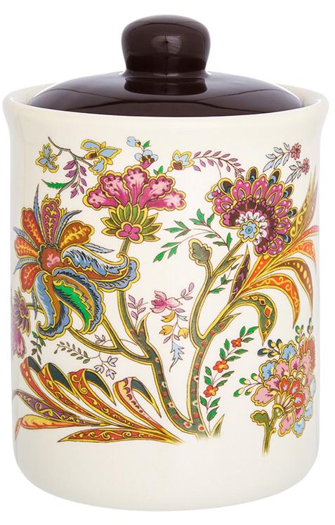 Банка для сыпучих продуктов Elan Gallery Цветочная радуга, с крышкой, 530 мл банка для сыпучих продуктов elan gallery оливковое масло с крышкой с зажимом 600 мл