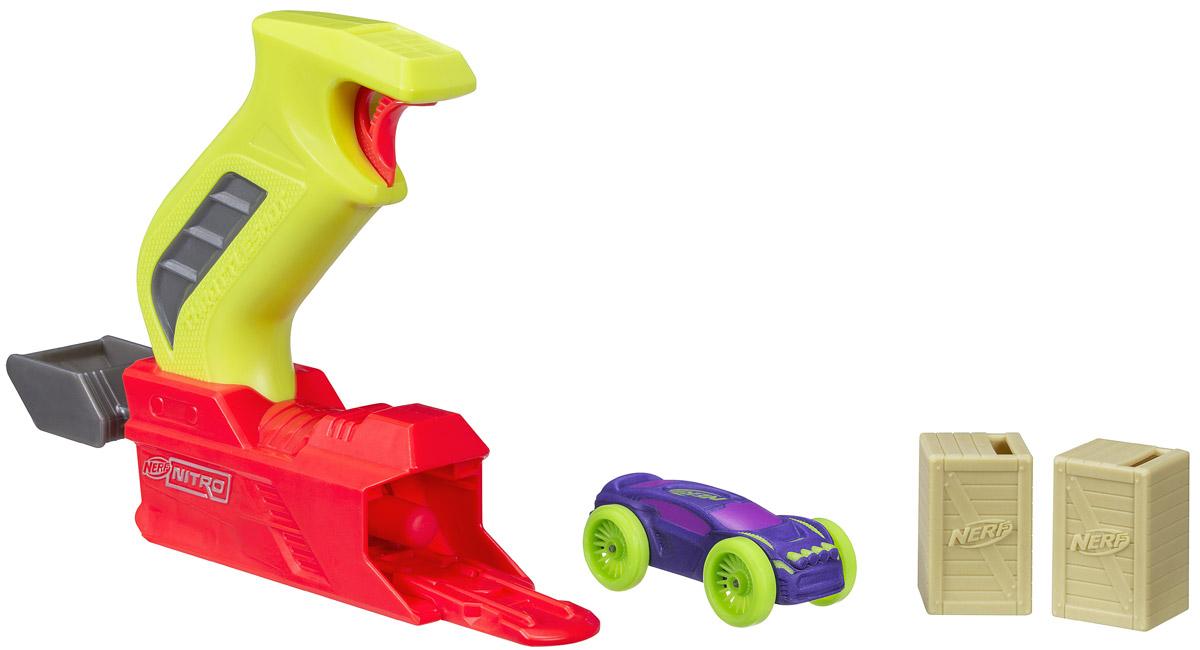 Nerf Игровой набор с машинкой Throttleshot Blitz