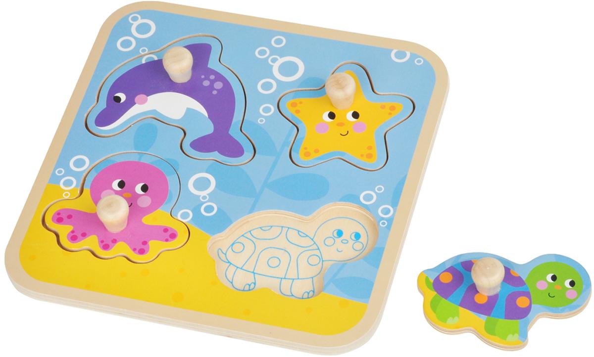 Mapacha Пазл для малышей Вкладыши Море цена 2017