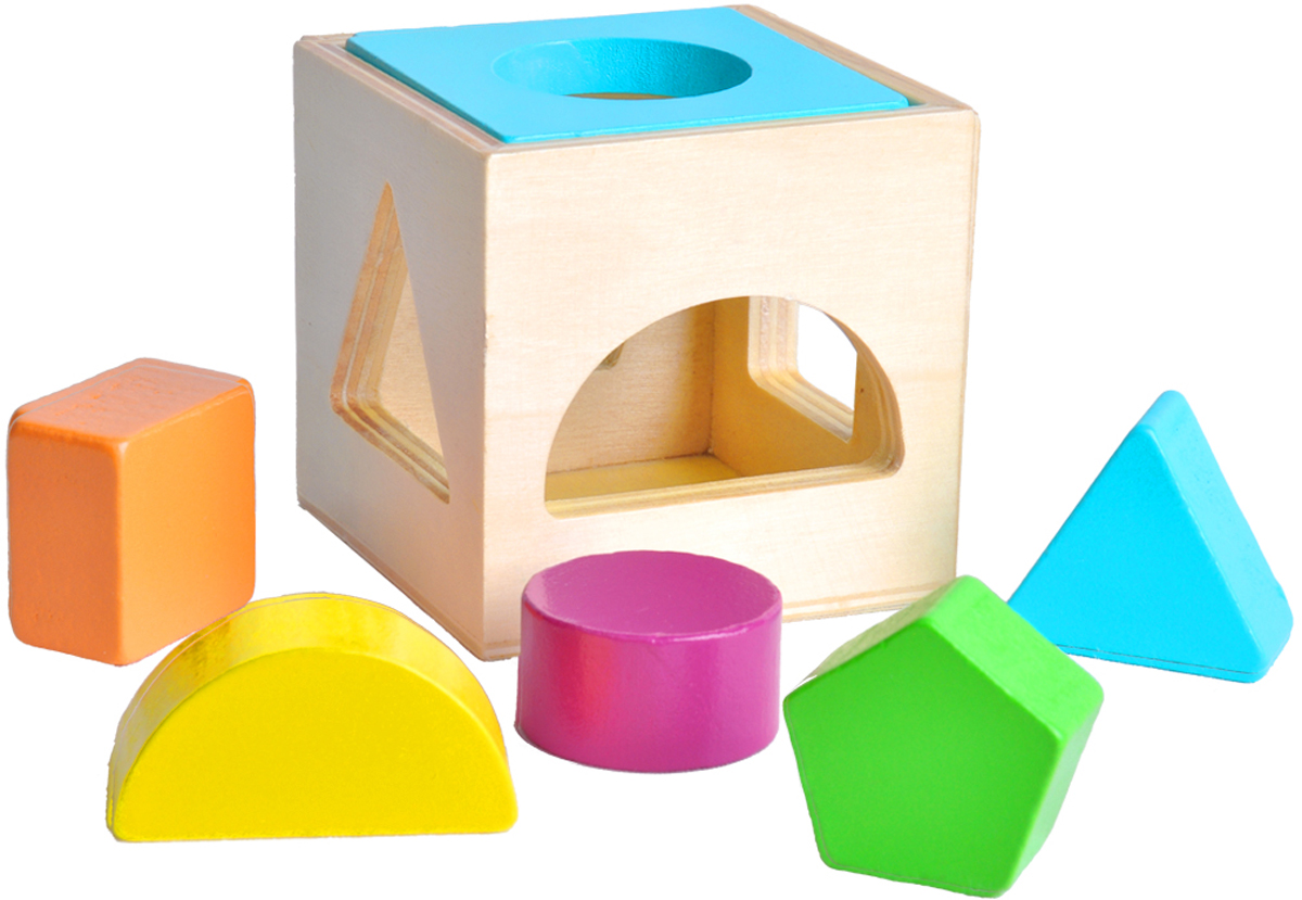 Mapacha Обучающая игра Сортер Кубик stellar развивающая игра сортер логический кубик 01314