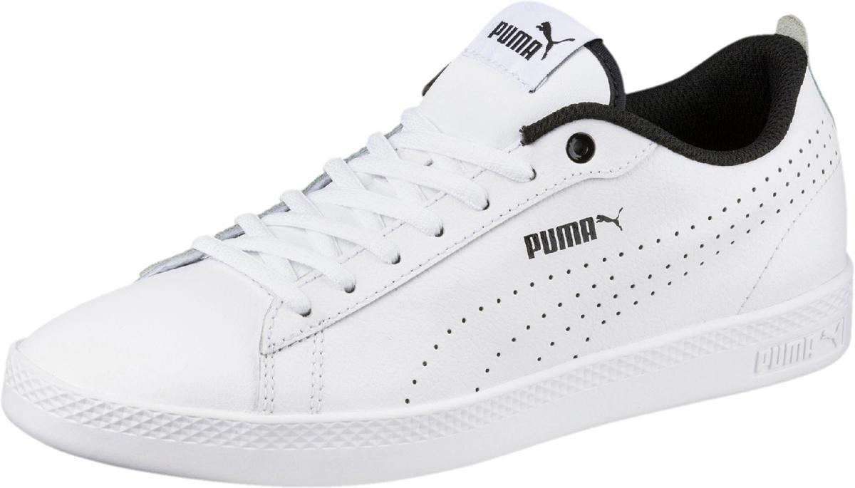 Кеды PUMA Smash Wns V2 L Perf кеды женские puma smash wns v2 l цвет черный 36520803 размер 6 5 39