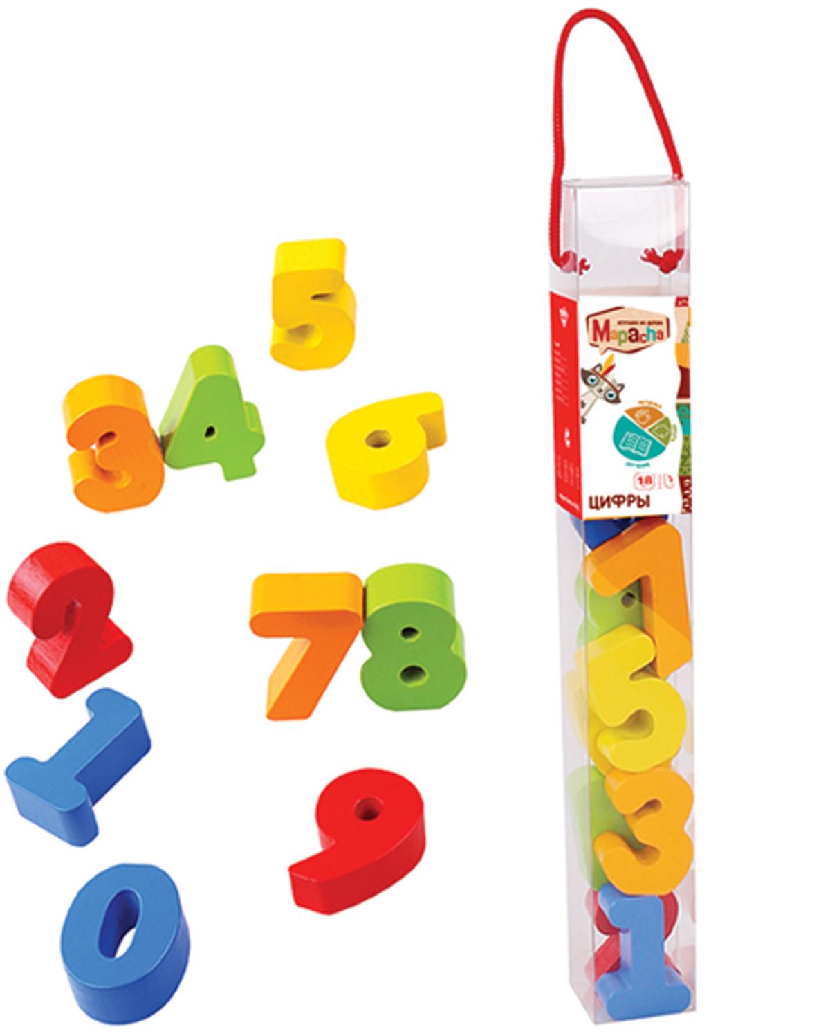 Mapacha Развивающая игра Цифры mapacha деревянная рамка вкладыш mapacha цифры