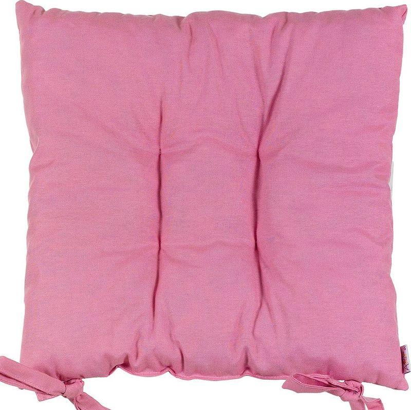 "Подушка на стул Altali ""Роза"", розовый"