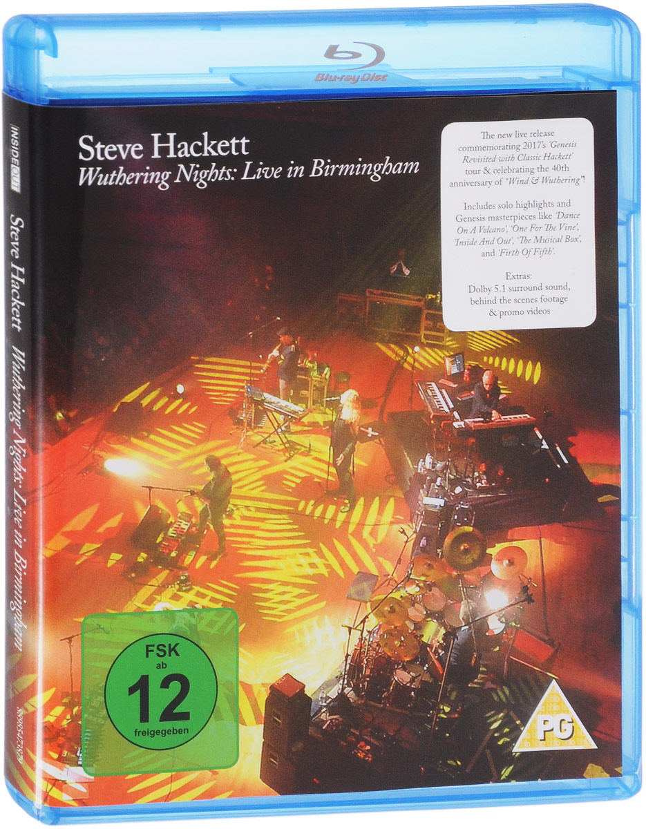 Steve Hackett. Wuthering Nights: Live In Birmingham (Blu-ray) steve hackett wuthering nights live in birmingham blu ray
