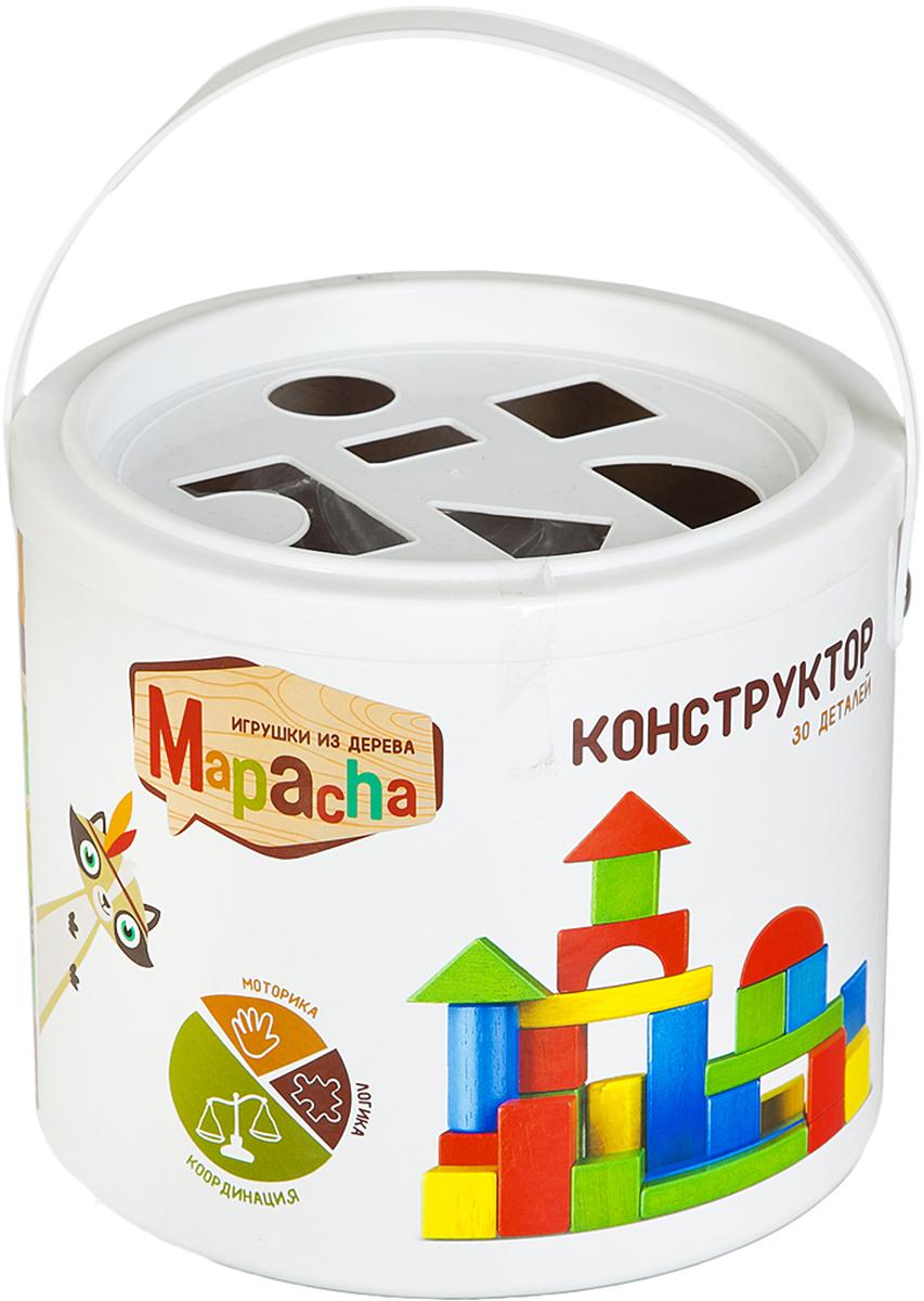 Mapacha Обучающая игра Конструктор игра mapacha кубик радужный конструктор сортер шнуровка
