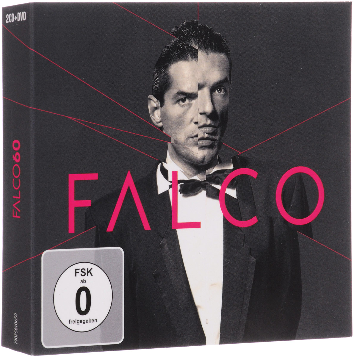 лучшая цена Falco Falco. 60. Deluxe (2 CD + DVD)