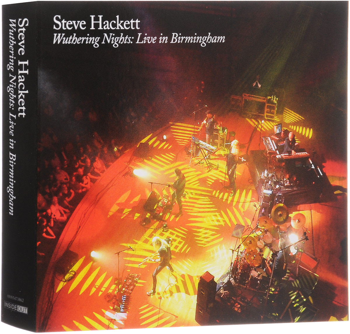 Стив Хэкетт Steve Hackett. Wuthering Nights: Live In Birmingham (2 CD + 2 DVD) steve hackett steve hackett wolflight 2 lp cd
