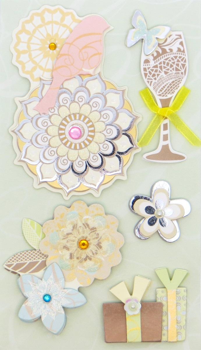Распечатать украшения для открыток