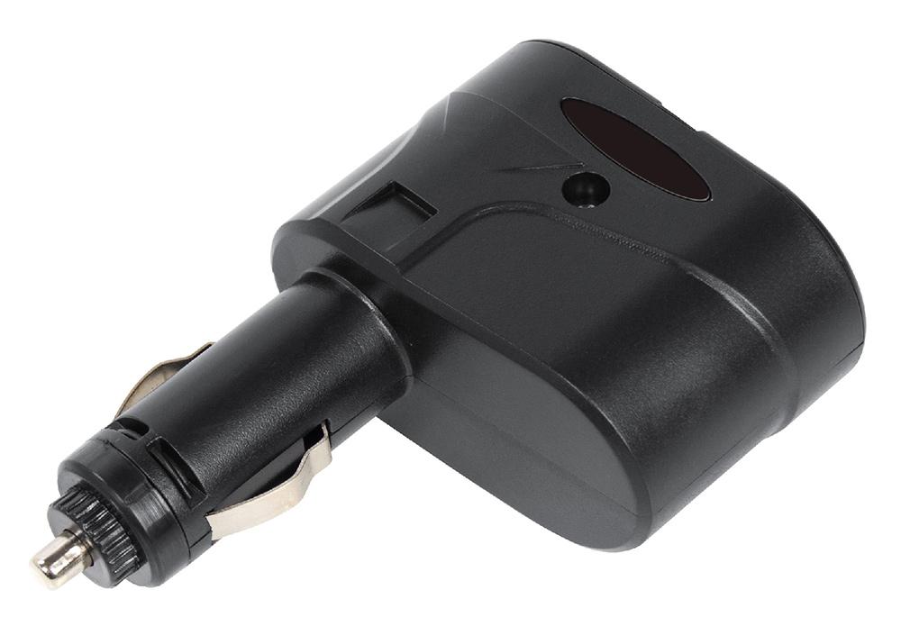 Digma DCN-12P2 разветвитель прикуривателя разветвитель digma dcn 12p2