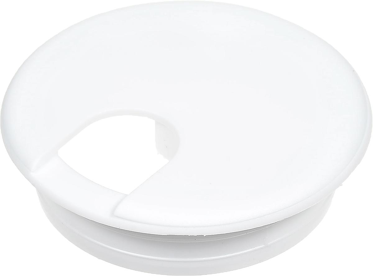 Заглушка Element для стола, кабель-канал, цвет: белый запчасти для автоматических столов emi