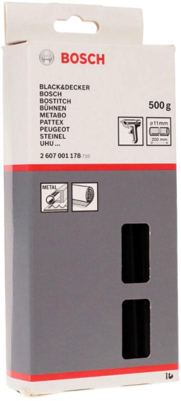 Клеевой стержень Bosch 2 607 001 178, черный bosch tas3202 black