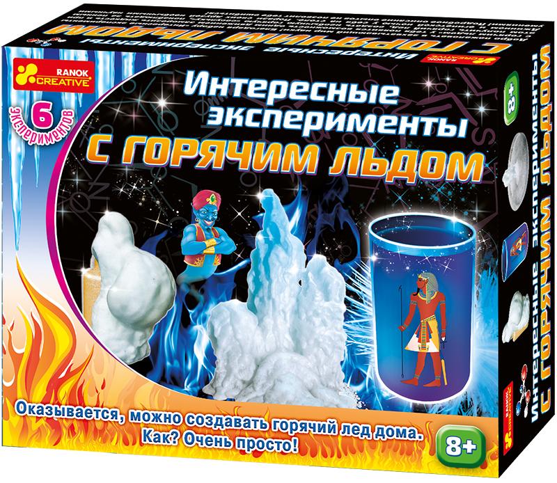 Ranok Набор для экспериментов Интересные эксперименты с горячим льдом