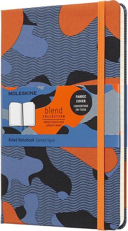 Moleskine Блокнот Blend 120 листов в линейку цвет голубой оранжевый серый черный