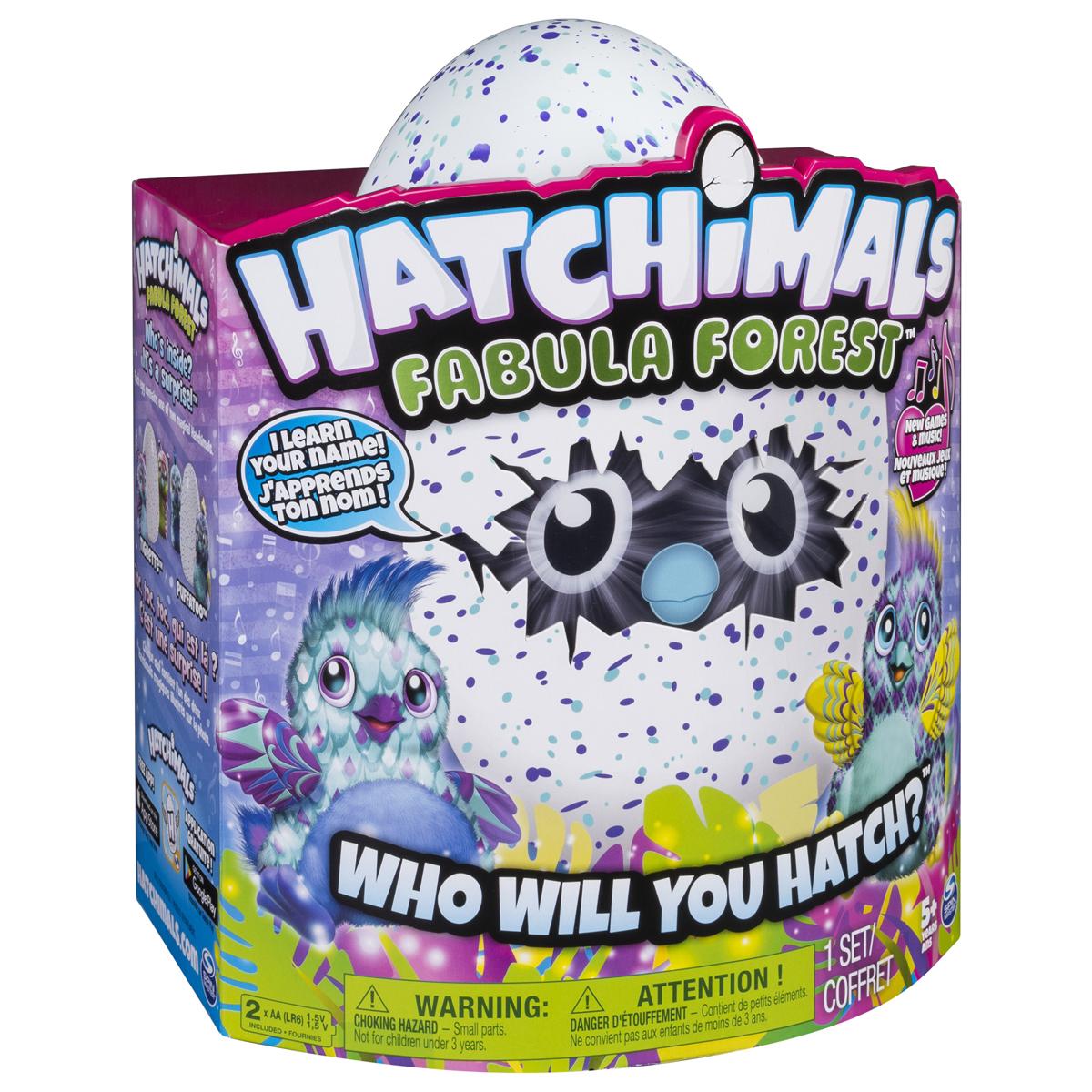 Hatchimals Интерактивный питомец вылупляющийся из яйца цвет голубой интерактивная игрушка hatchimals сюрприз близнецы интерактивный питомец вылупляющийся из яйца 19110 zuf