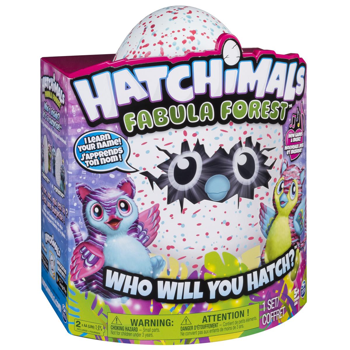 Hatchimals Интерактивный питомец вылупляющийся из яйца цвет розовый