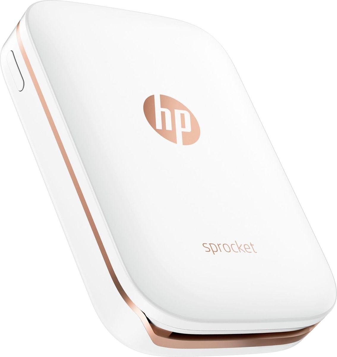 лучшая цена Принтер HP Sprocket, White