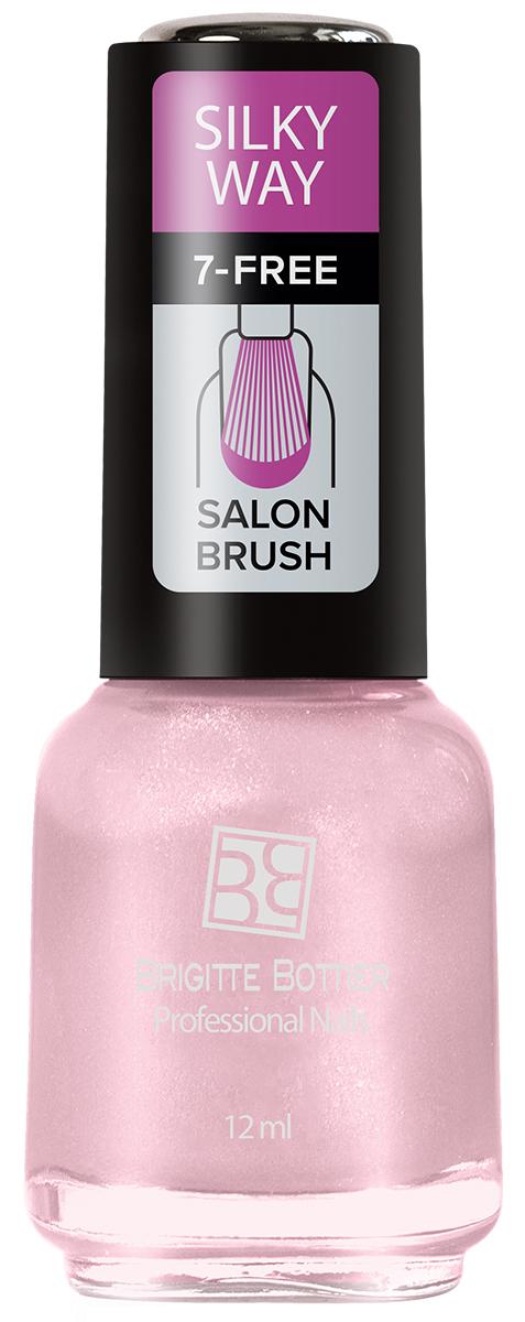 Brigitte Bottier лак для ногтей Silky Way тон 566 нежная роза 12млBB-SW 566Лак Silky Way после полного высыхания приобретает неповторимую матовую поверхность с текстурой, напоминающей яркие, струящиеся натуральные шелка с их утонченной, мягкой игрой света.