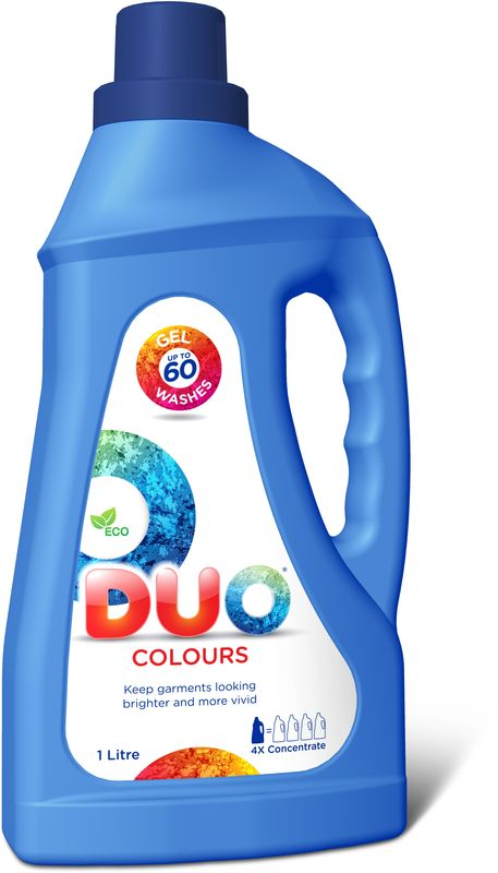 """Гель для стирки Duo """"Colours"""", концентрированный, 1 л"""