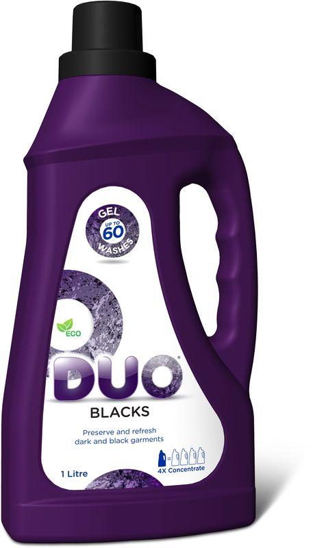 """Гель для стирки Duo """"Blacks"""", концентрированный, 1 л"""
